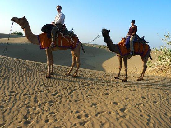 Jasmin Home: camel ride