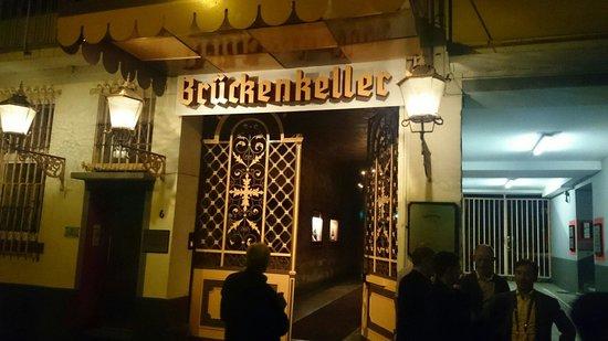 Brueckenkeller: The beautiful entrance