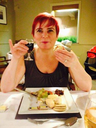 Glencoe Hotel Restaurant: Stunning cheese