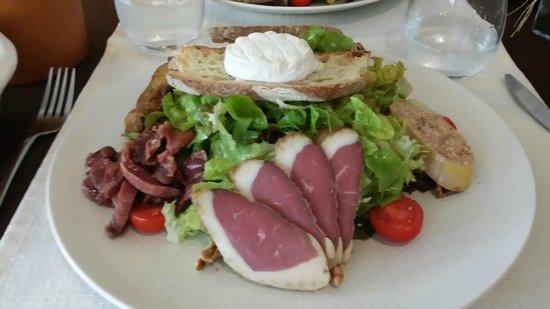 Saveurs des Halles: salade du Quercy