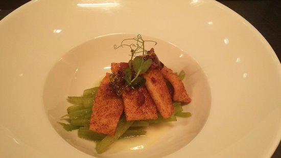 El Restaurante de Baluarte: Borraja con calamar