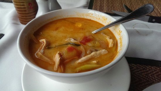 Asador: Tom yam chicken soup