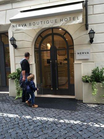 Nerva Boutique Hotel: Nervo boutique hotel meraviglioso soggiorno...