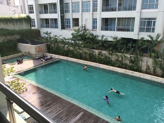 Pool picture of pullman jakarta central park jakarta - Pullman central park swimming pool ...