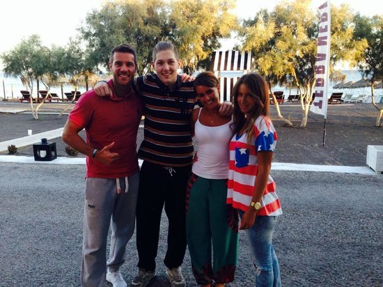 Perivolos, Greece: Me, Leah and the lovely Dimitris and Maria xxxx