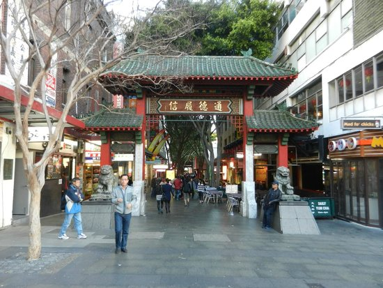 Chinatown: ....the usual gates