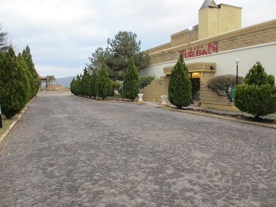 Turban Hotel Urgup: The hotel entrance