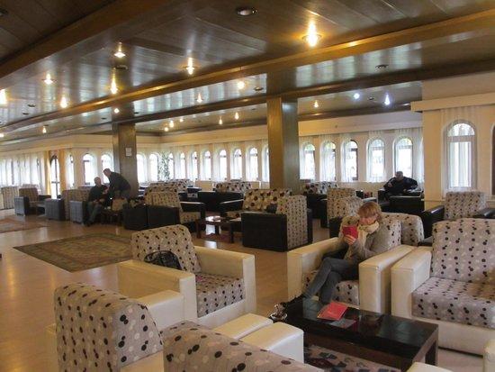 Turban Hotel Urgup: The lobby