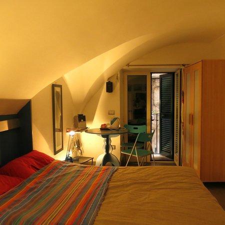 La Casetta : The bedroom