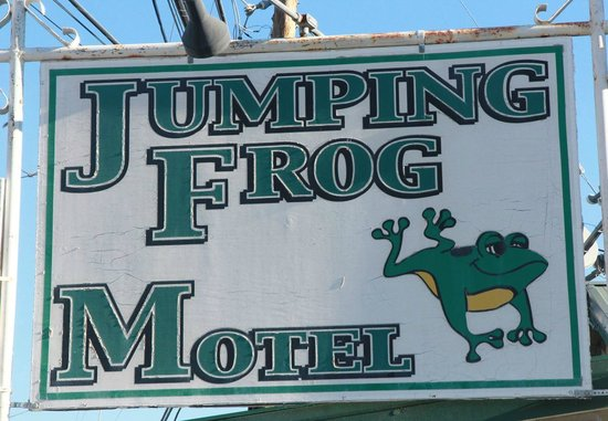 Jumping Frog Motel: It's quaint