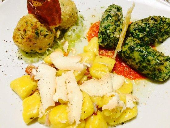 Osteria La Spleuza Cucina & Pizza : Tris tipico