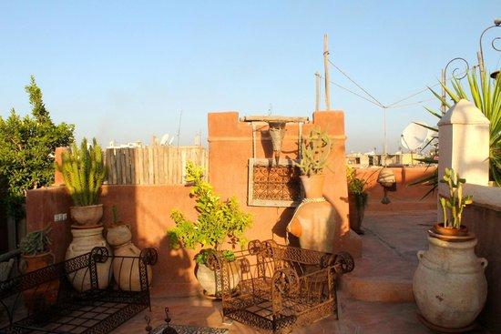 Riad les Inseparables: La terrassa