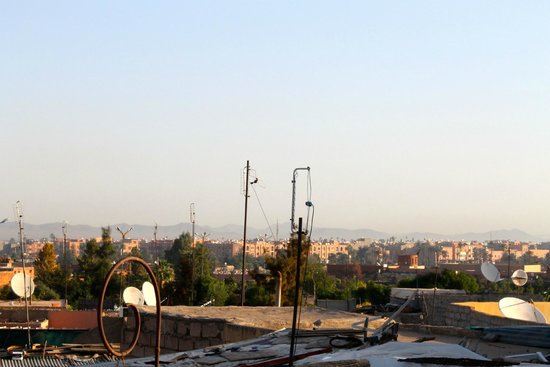 Riad les Inseparables: Vue depuis la terrasse