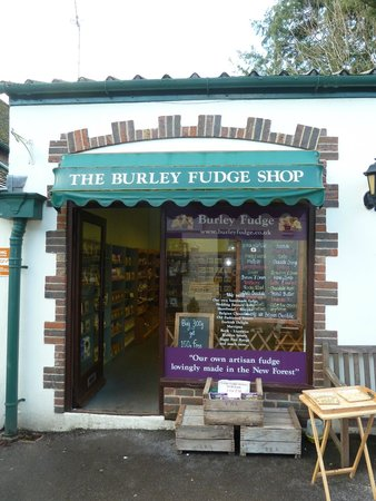 Burley, UK: Fudge shop