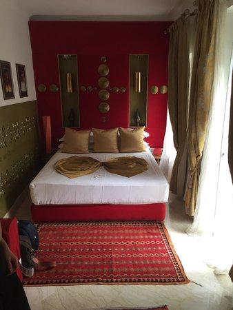 Riad Infinity Sea : la nostra bellissima camera Suite fuoco