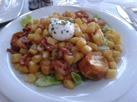 Au Palais Des Glaces: salade pommes de terre