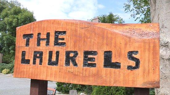 The Laurels B & B: The Laurels Sign Post