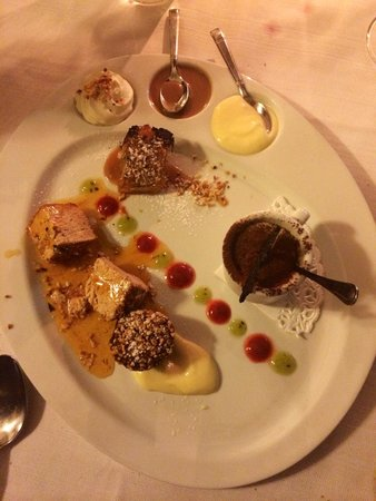 Trattoria Pane & Vino : Degustazione di dolci