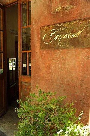 Posada Borravino : Entrance