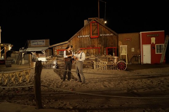 Rawhide Western Town & Event Center: Voorstelling