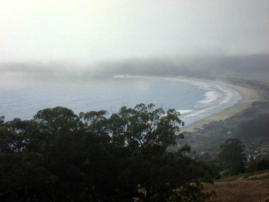 Bolinas Beach: Stinson Beach auf der Nehrung zwischen Pazifik und Bolinas Lagoon