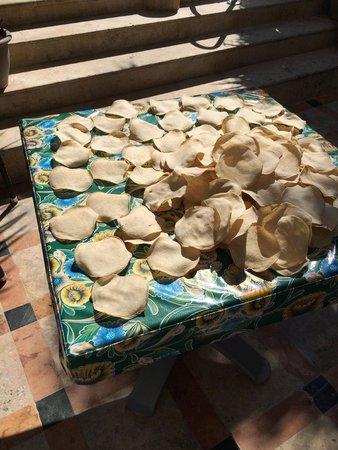 Casa Sirena Hotel: Fresh tostadas