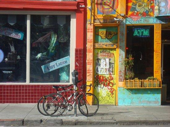 Haight Street: Vieles schön bunt hier 8