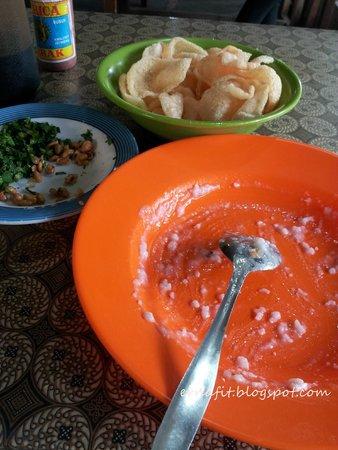 Bubur Ayam Mang Haji Oyo Tea
