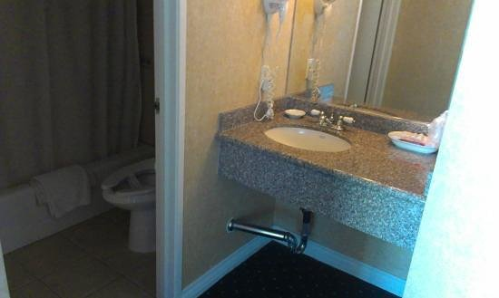 Garden Suites Hotel & Resort: Bathroom area