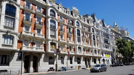 Madrid, Spain: Elegant districts and streets.  Very clean city
