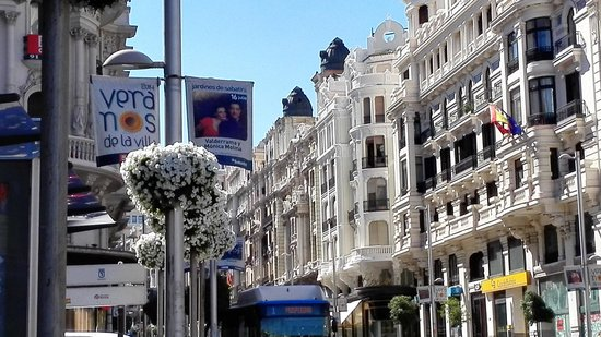 Madrid, Spain: Very elegant city...  Avenues and streets