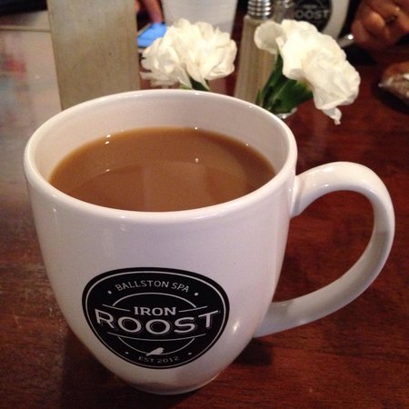 Iron Roost: Nice large cup of coffee to start the morning