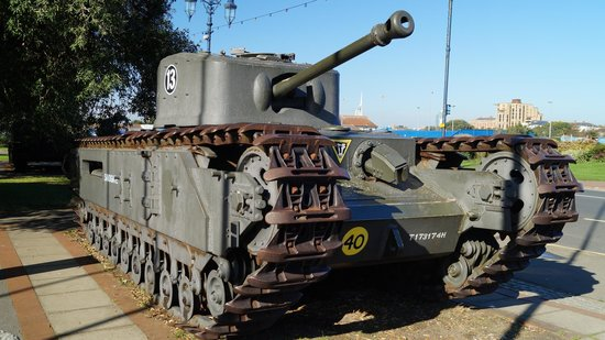 Cromwell Flame Throwing Tank - Picture of The D-Day Story