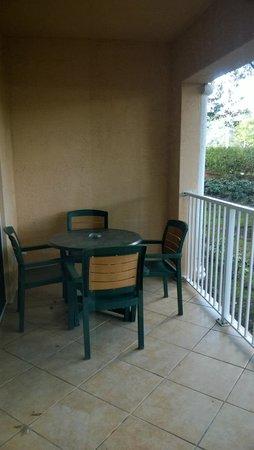 Mizner Place at Weston Town Center: Vista del balcón