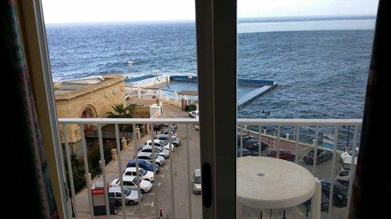 Astra Hotel: Utsikt