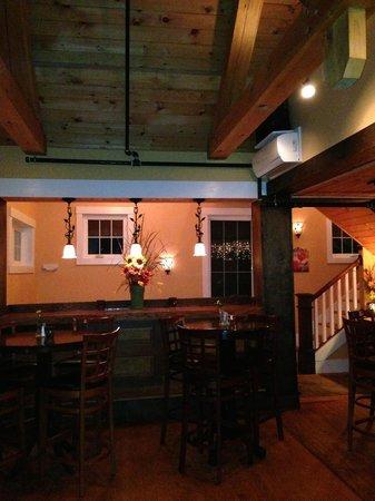 Six Burner Bistro. Inside the restaurant