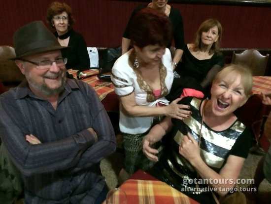 Gotan Tours: Meeting the locals at a milonga