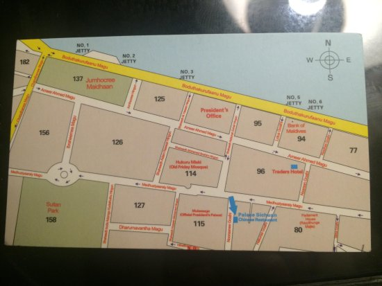 Palace Sichuan Chinese Restaurant: Location map