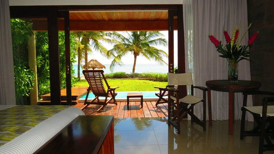 swim up beach front villa picture of le reve hotel spa playa del carmen tripadvisor. Black Bedroom Furniture Sets. Home Design Ideas