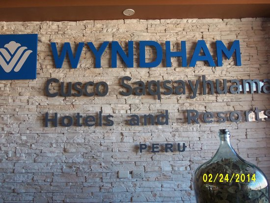 Wyndham Cusco Saqsayhuaman : Entrance