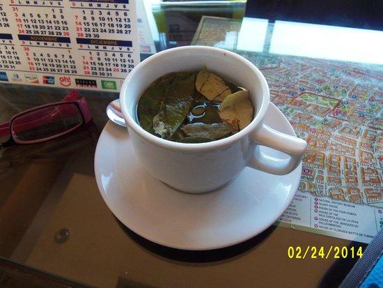 Wyndham Cusco Saqsayhuaman : Welcome Coca Tea