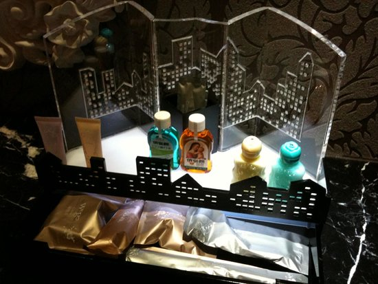 Wego Boutique Hotel: Toiletries