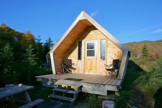 The Zzzz Moose Camping Cabins