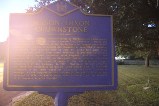 Mason-Dixon Crownstone