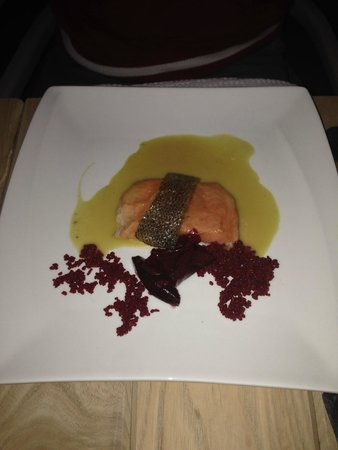 Springfontein Eats: Salmon Trout and Beetroot