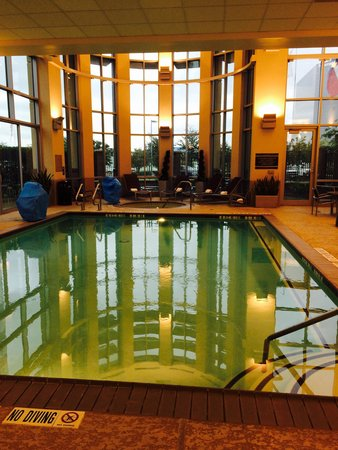 Embassy Suites by Hilton Houston - Energy Corridor: Pool area.  Nice hot tub. Clean and relaxing