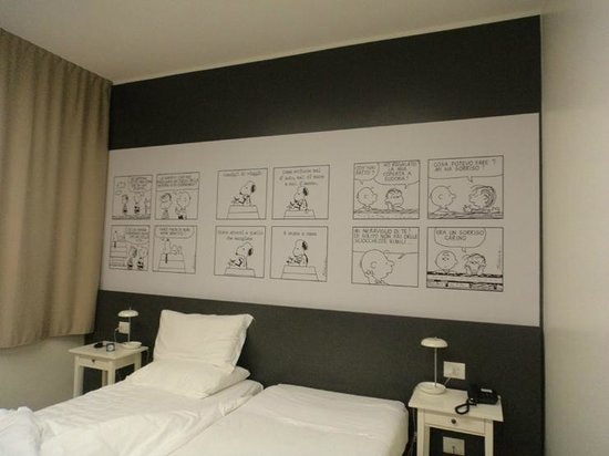 Hotel Ornato - Gruppo Mini Hotel : Un'altra delle camere dedicate ai Peanuts