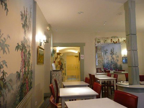 Relais Hotelier Douce France: Salon de thè