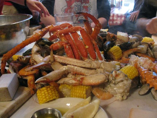 The Crab Pot Seafood Restaurant King Snow Dungeness