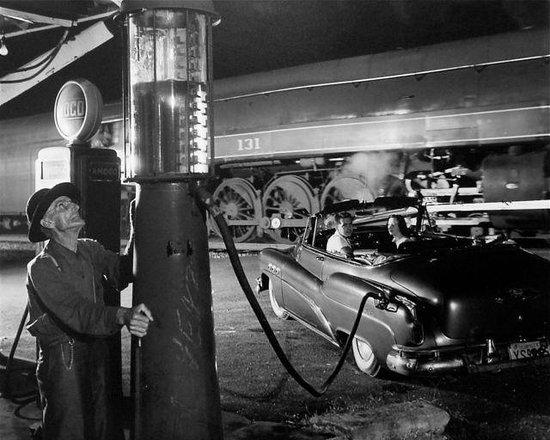 "O. Winston Link Museum: ""Sometimes the Electricity Fails,"" Vesuvius, VA 1956"